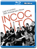 Incognito: Live in London – 35th Anniversary Show (Blu-ray, блю-рей)