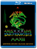 Asia: Axis XXX – Live San Francisco (Blu-ray, блю-рей)