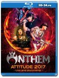 Anthem - Attitude 2017 Live And Documents (Blu-ray,блю-рей)