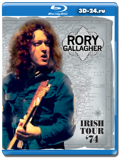 Rory Gallagher: Irish Tour '74 (Blu-ray,блю-рей)