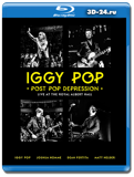 Iggy Pop's Post Pop Depression: Live at The Royal Albert Hall  (Blu-ray, блю-рей)