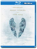 Coldplay: Ghost Stories Live (2014)  (Blu-ray, блю-рей)