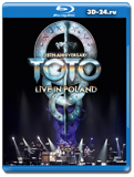 Toto: 35th Anniversary Tour – Live in Poland (Blu-ray, блю-рей)