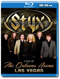 Styx - Live at The Orleans Arena Las Vegas (Blu-ray, блю-рей)