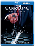 Europe: War of King – Live at W:O:A (Blu-ray, блю-рей)