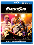 Status Quo  The Frantic Four's Final Fling – Live At The Dublin 02 Arena (Blu-ray,...