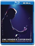 Jimi Hendrix Experience  Electric Church - Atlanta Pop Festival (Blu-ray, блю-рей)