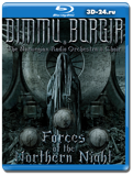 Dimmu Borgir: Forces Of The Northern Night  (Blu-ray,блю-рей)  2 ДИСКА