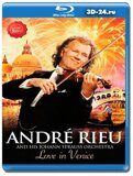 Andre Rieu - Love in Venice  (Blu-ray,блю-рей)