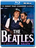 The Beatles  The Night That Changed America - A Grammy Salute (Blu-ray, блю-рей)