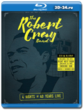 The Robert Cray Band: 4 Nights Of 40 Years Live  (Blu-ray, блю-рей)