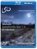London Symphony Orchestra – Carl Nielsen: Symphonies Nos. 1-6 AUDIO (Blu-ray,...