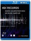 AIX Records - AIX Records HD Music Sampler  (Blu-ray,блю-рей)