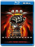 U.D.O. - Steelhammer: Live From Moscow (Blu-ray, блю-рей)