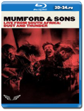 Mumford&Sons Dust And Thunder (Live From South Africa)(Blu-ray,блю-рей)