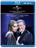 Tony Bennett & Lady Gaga: Cheek to Cheek Live!  (Blu-ray, блю-рей)