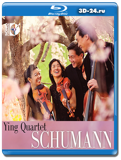 Ying Quartet: Schumann (2014) Blu-ray AUDIO 1080i AVC DTS-HD 7.1 (Blu-ray, блю-рей)