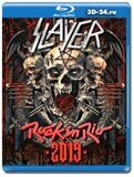 Slayer - Live at Rock in Rio 2019  (Blu-ray,блю-рей)