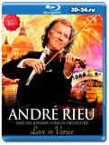 André Rieu and his Johann Strauss Orchestra: Love In Venice (Blu-ray, блю-рей)
