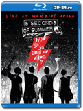 5 Seconds of Summer  How Did We End Up Here Live at Wembley Arena (Blu-ray, блю-рей)