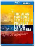 The Alan Parsons Symphonic Project - Live In Colombia 2016 (Blu-ray, блю-рей)