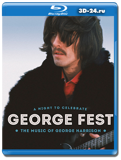 George Fest: A Night to Celebrate the Music of George Harrison  (Blu-ray,блю-рей)