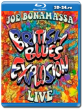 Joe Bonamassa - British Blues Explosion Live (Blu-ray,блю-рей)